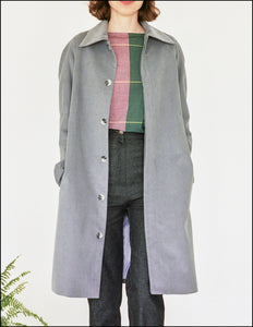 The Chance Raglan Coat in Corduroy