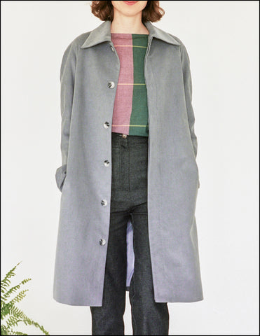 Chance Raglan Coat in Corduroy