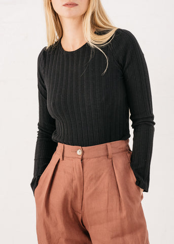 Prairie Skivvy in Black