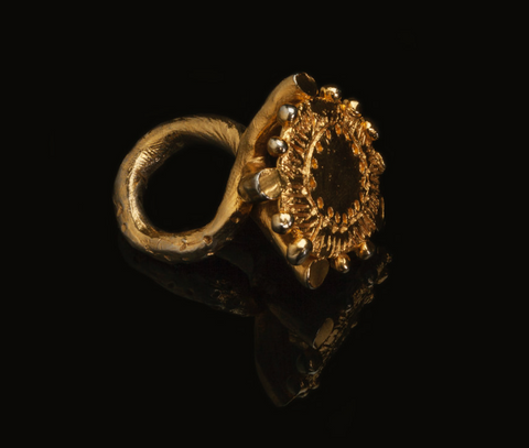 E.Homfray Disc Ring Large
