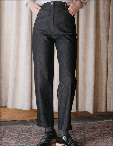 The Beattie Jean in Charcoal