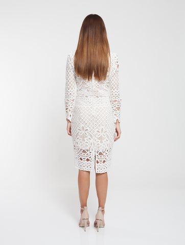 Annabelle Lace Long Sleeve Dress
