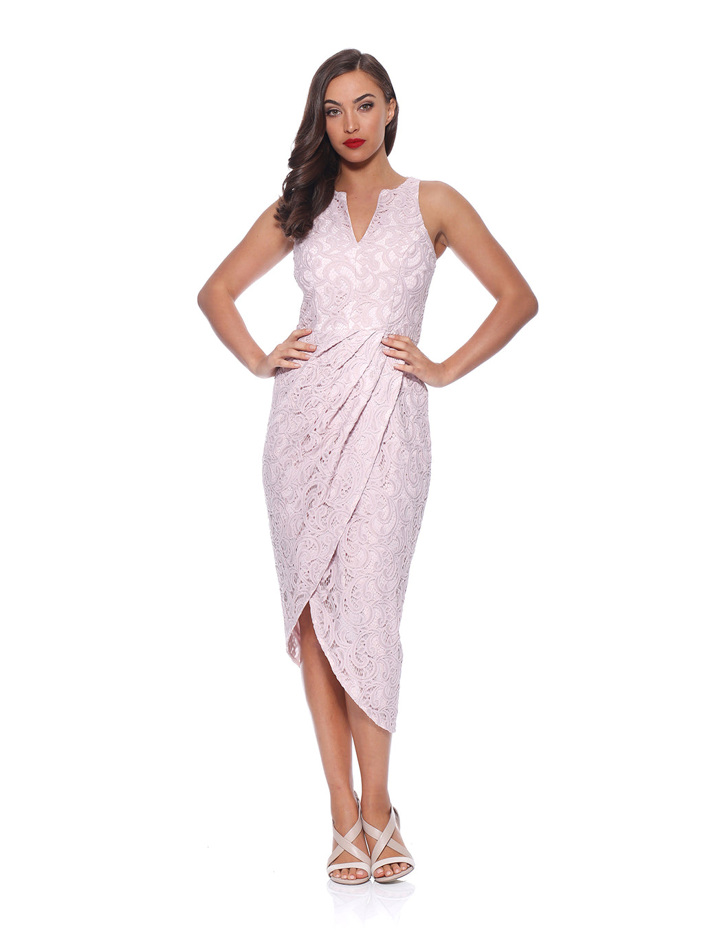 Aster Drape Dress