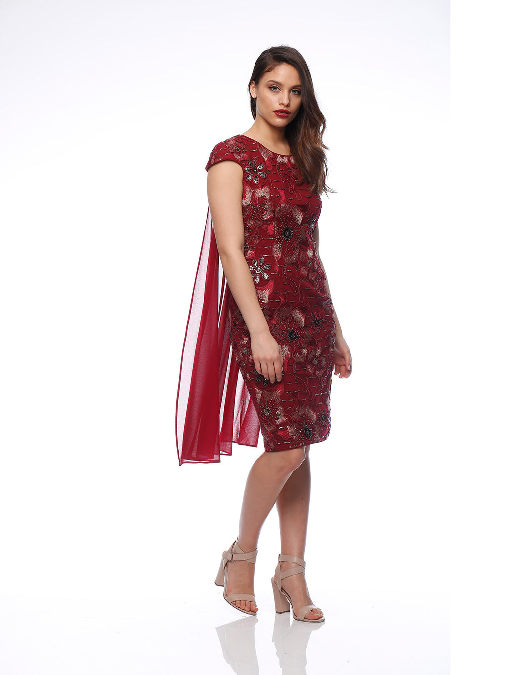Malory Cape Dress