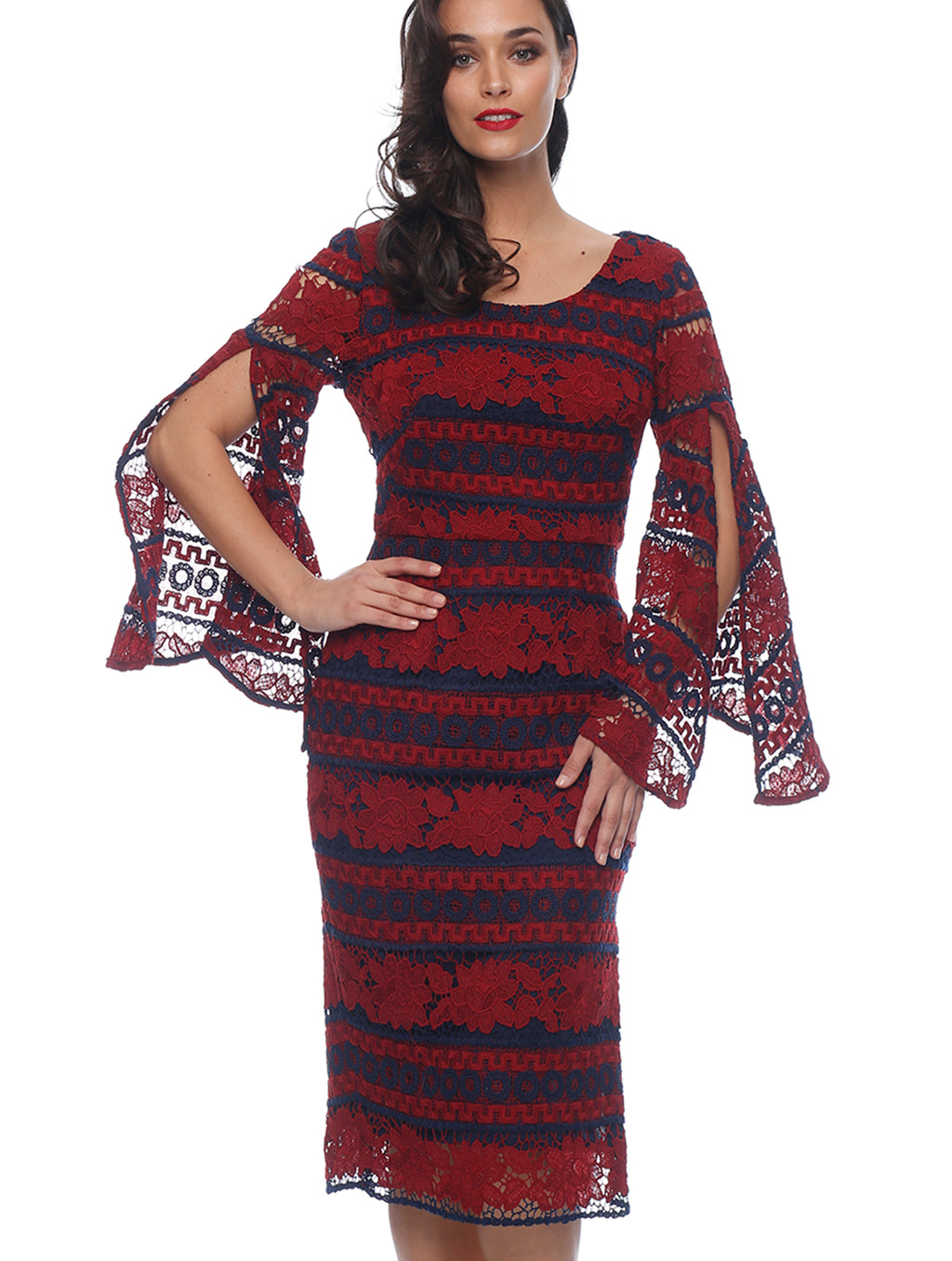 Cora Bell Sleeve Dress