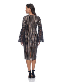 Caroline Bell Sleeve Dress