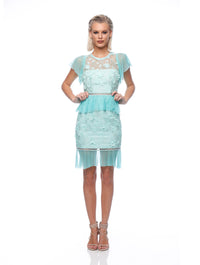 Allure Frill Dress