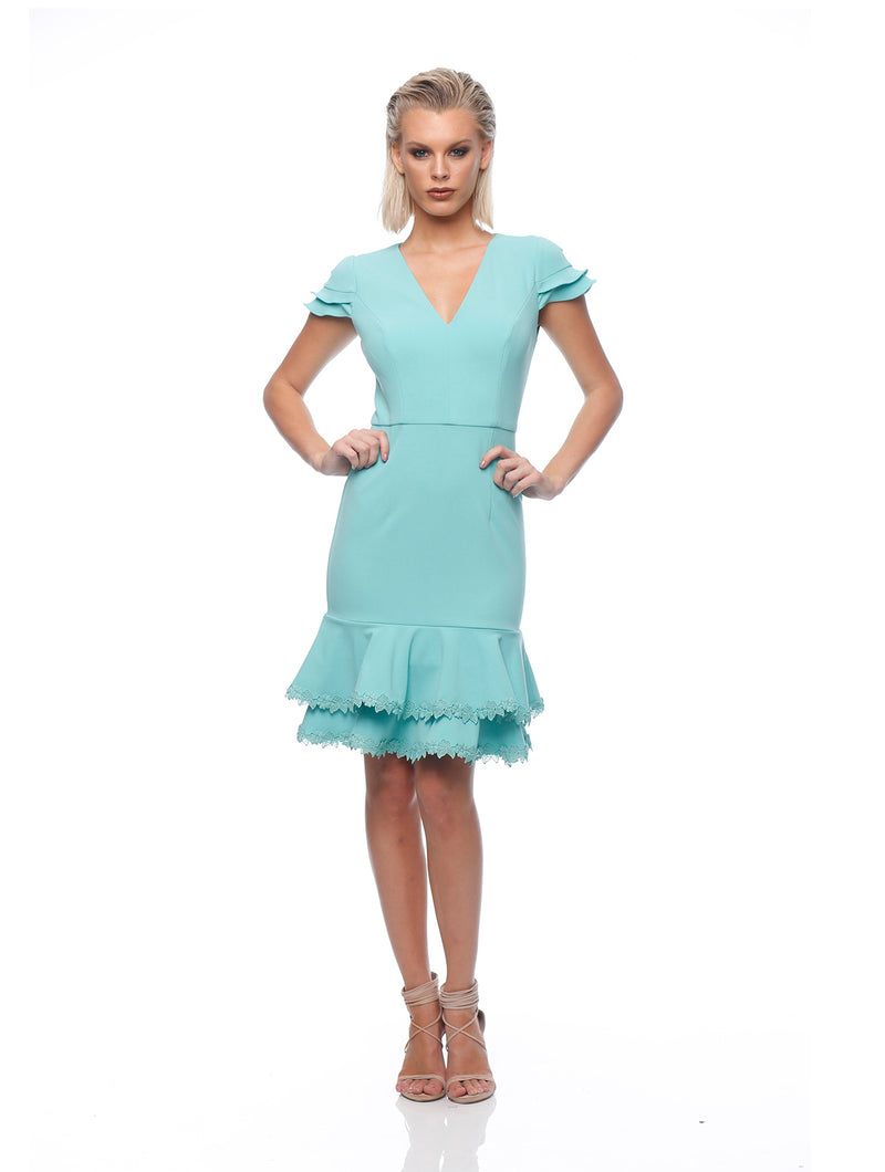 Entice Frill Dress