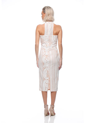 Angelic Halter Dress