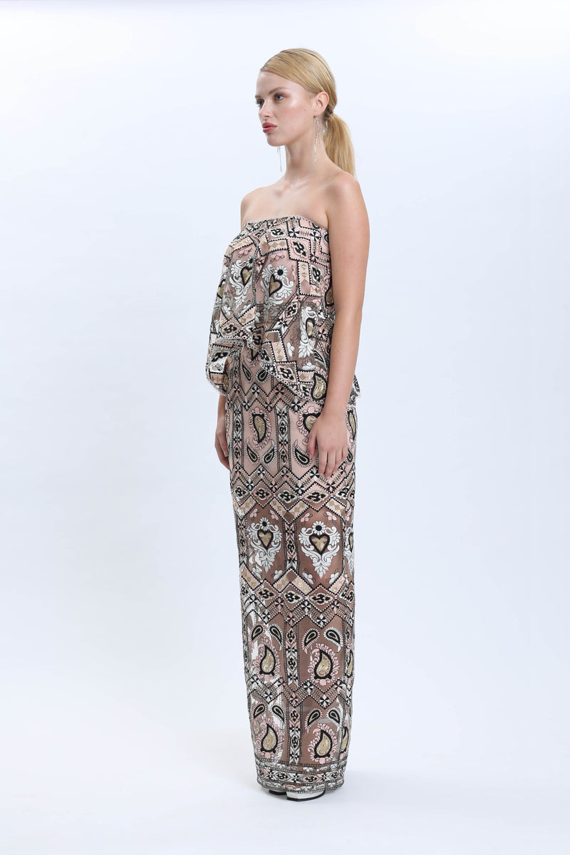 Infinity Strapless Maxi