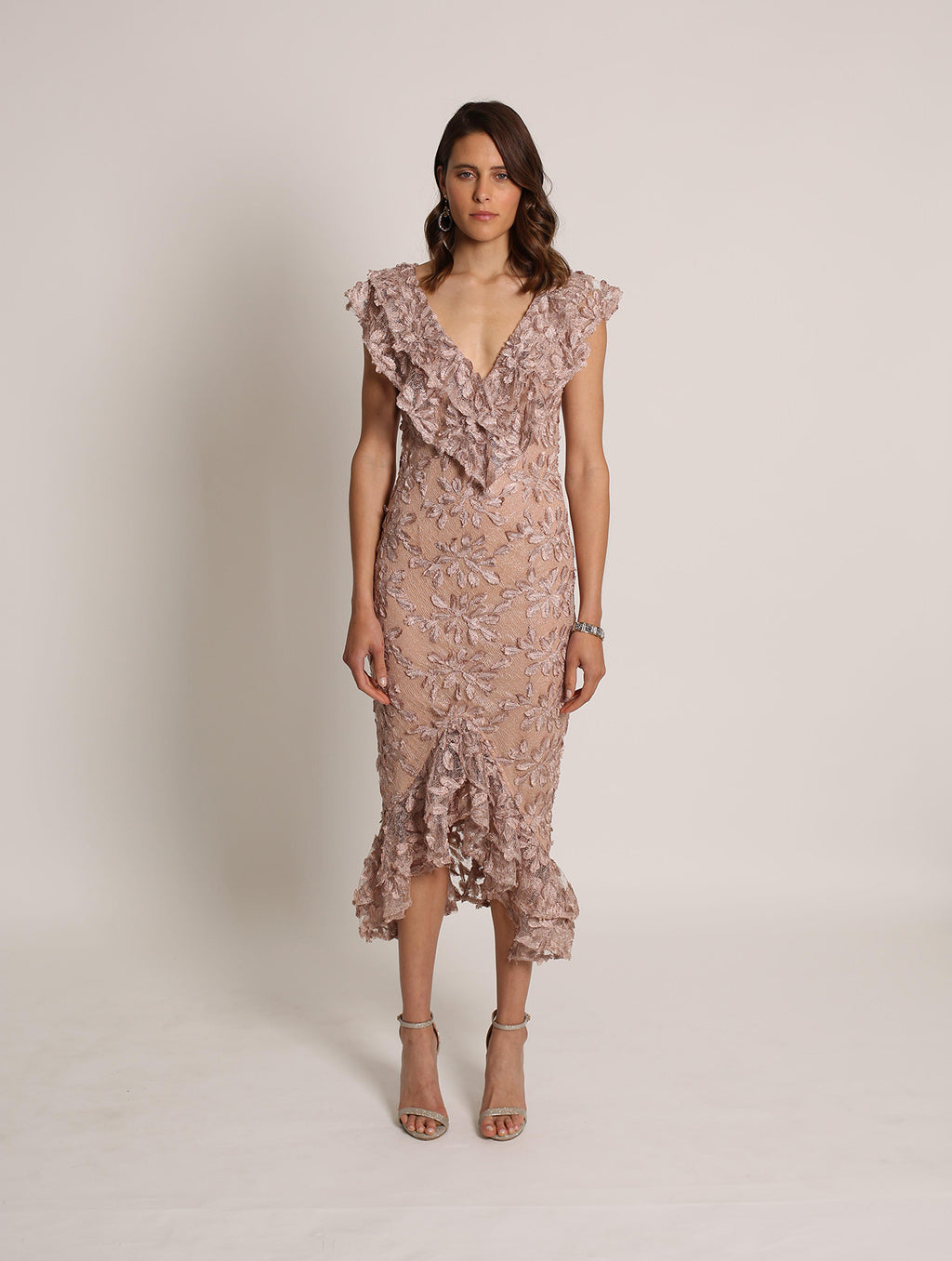 Lacey Frill Dress