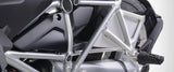BMW PASSENGER SEAT RECESS COVER - SILVER -, BMW R1200GS / ADV & R1200RT, 2013-ON (WATER COOLED)
