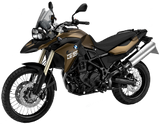 BMW F800 GS 2012 - 2015 GS, GSA GS Trophy, Triple Black Chain &  Sprocket Kit