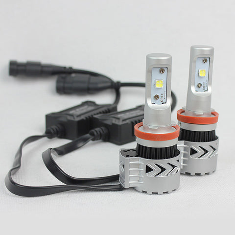 D2D Gen 8 LED H11  6000 LUMEN HEADLIGHT BULB