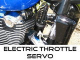 Triumph Thunderbird - later models without a speedometer sender unit (w/compact electric servo)