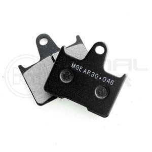 Harley Davidson XL 883 N Iron	2015 - 2015 Rear Brake Pads