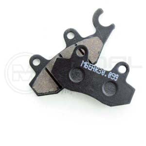 Triumph Tiger 1050  ABS, 1050 SE 2007 - 2011 Rear Brake Pads