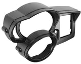 BMW F800 Instrument Surround with Visor - black