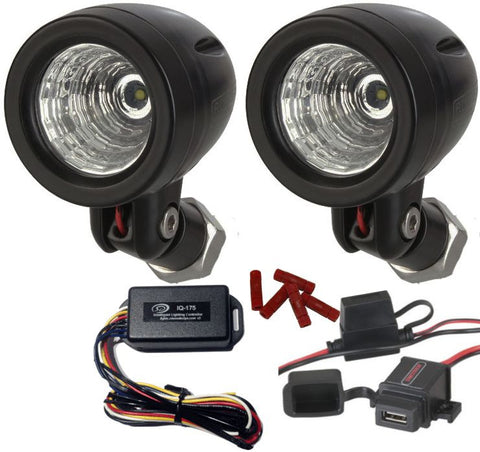 D2D Cree Mini Triple Intensity LED Lighting Kit with the Skene IQ-175 Intelligent Controller