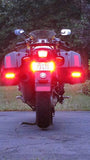 D2D CREE 25W ROUND LED LIGHTING KIT & HEX ezCAN Accessory Manager for the BMW R1200GS LC