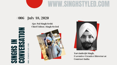 Singhs In Conversation | Tarvinderjit Singh