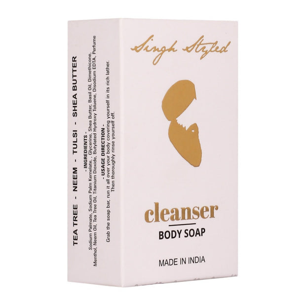 Singh Styled Cleanser Body Soap | Pack of 3 - Singh Styled