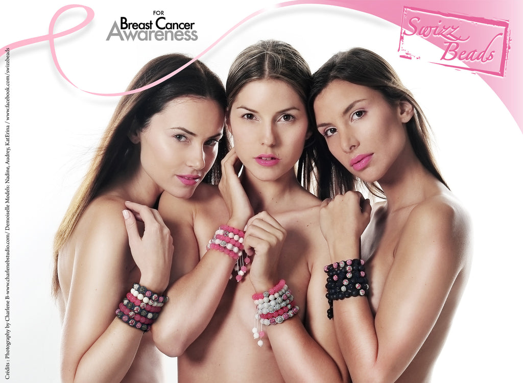 Swizz Beads For Breast Cancer Awareness