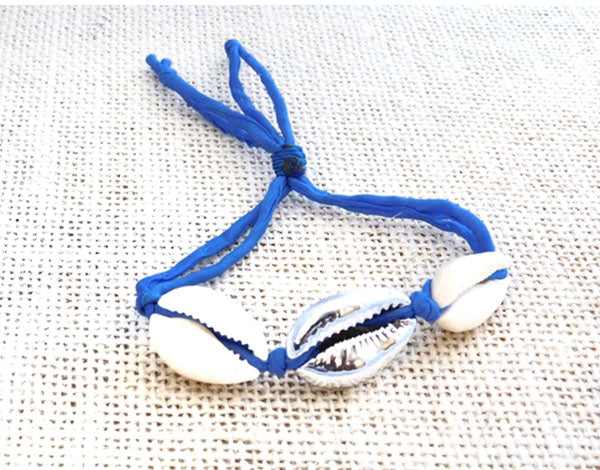 Cowry Shell Royal Blue