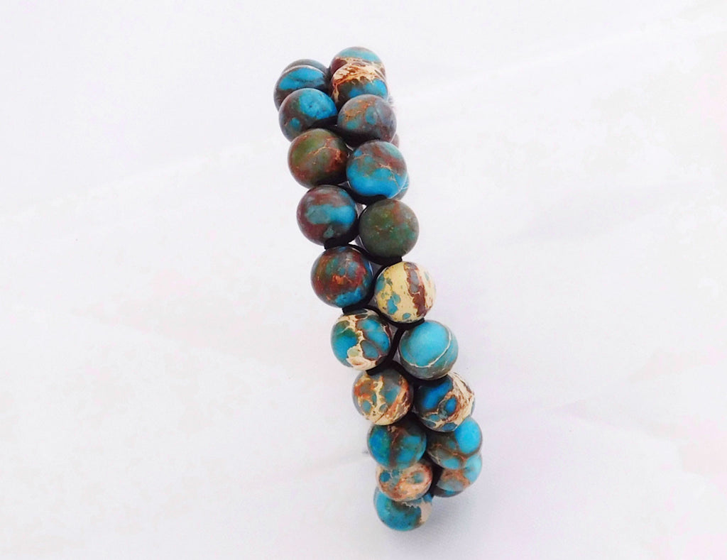 Double Sea Sediment Jasper - Swizz Beads & Co Ltd