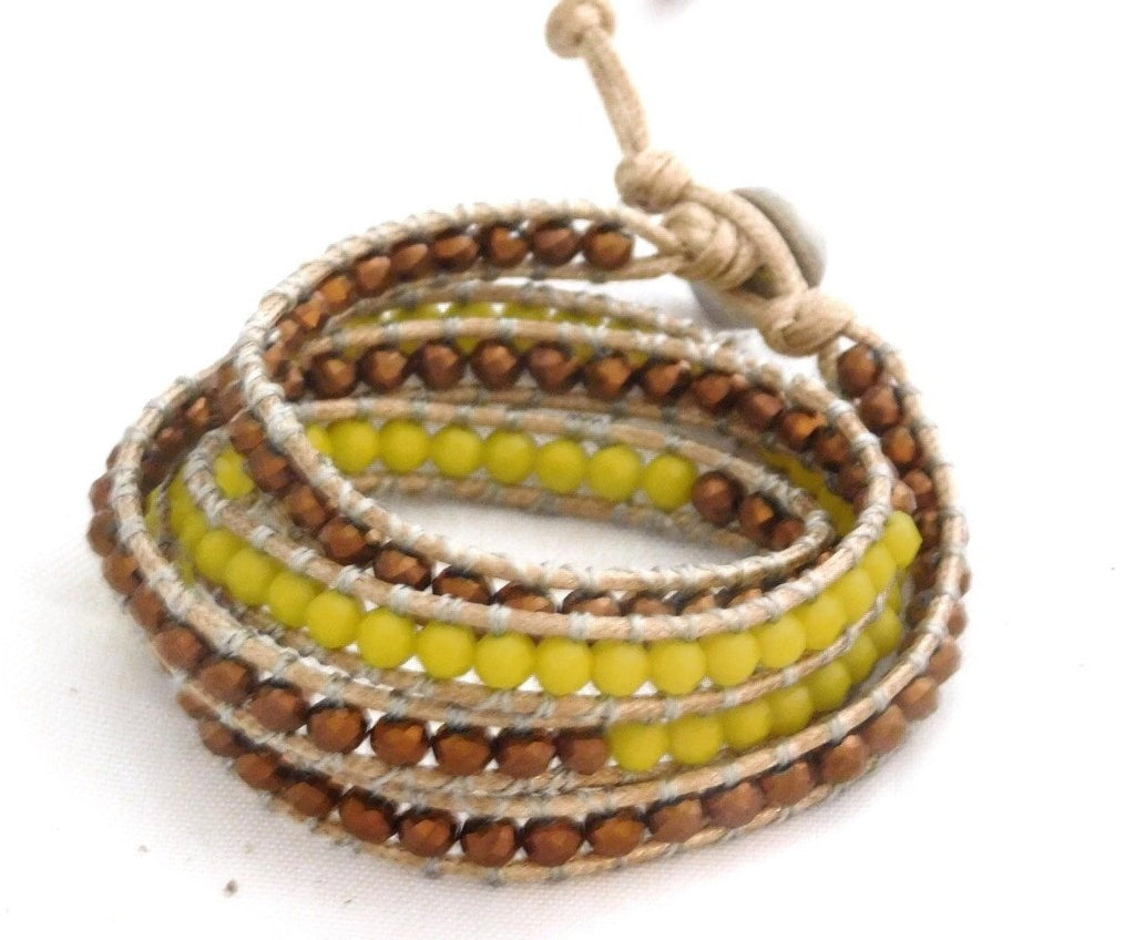 Wrap Bracelets Banana Split