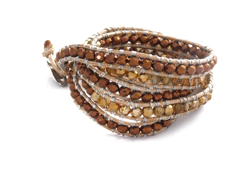 Wrap Bracelets Copper Queen Bracelet