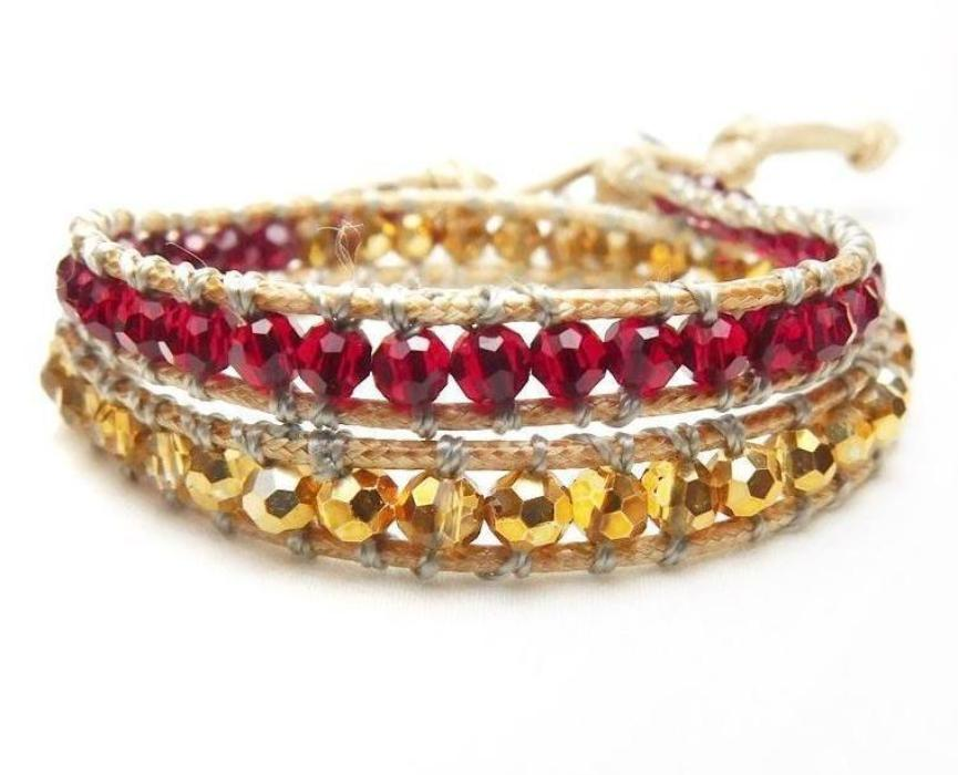 Wrap Bracelets Cherry Gloss