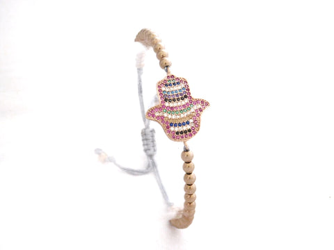 Multicolor Protection Hand Charm