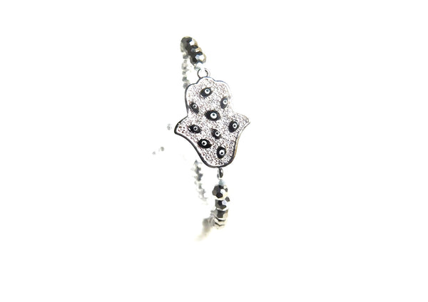 Charms Bracelets Silver Protection Bracelet