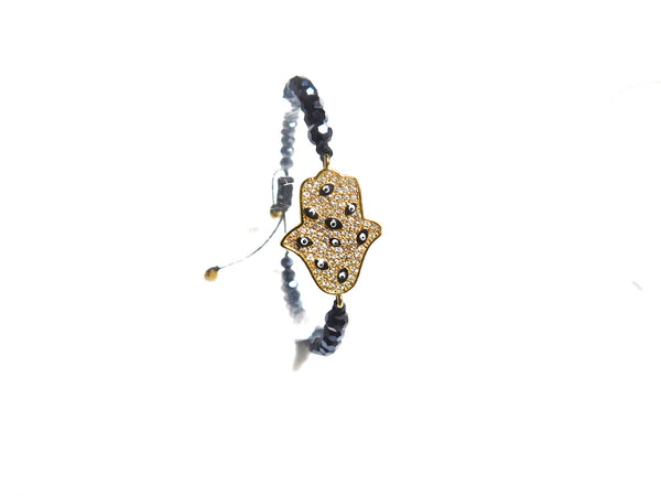 Charms Bracelets Golden & Navy Protection Bracelet