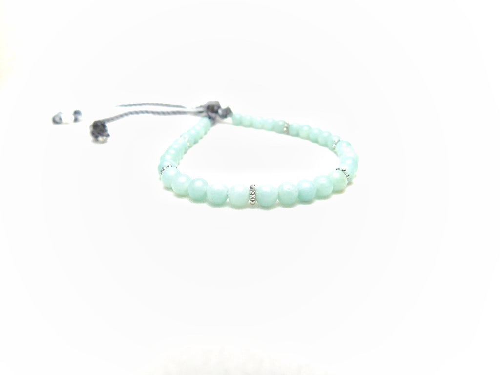 Les Petites Amazonite Silver Touch