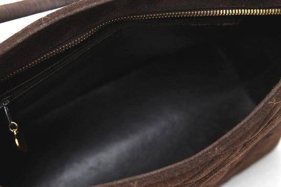 CHANEL Dark Brown Suede CC Medallion Tote Bag Shoulder Bag  シャネル ダークブラウン・スエード 復刻トート メダリオン バッグ 即発 - CHANEL TC JAPAN