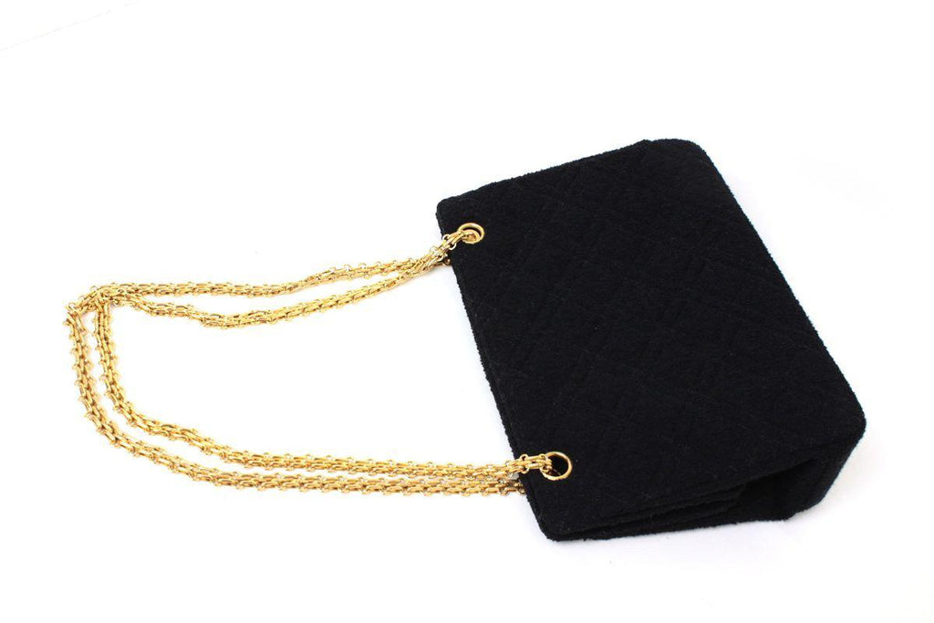 CHANEL Pile Black Chain Shoulder Bag シャネル バッグ - シャネル TC JAPAN