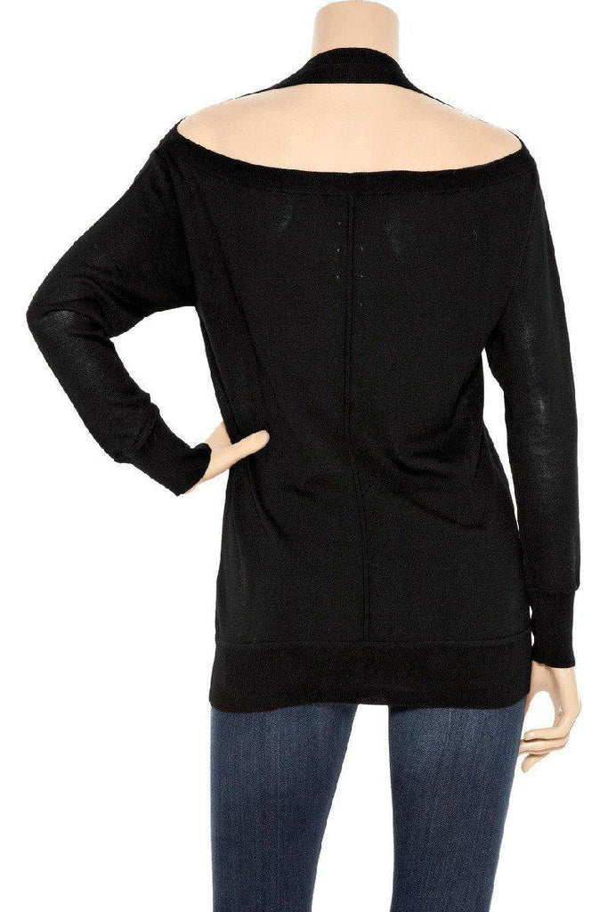 Alexander Wang wool 100 % black sweater New XS アレキサンダーワン セーター - シャネル TC JAPAN