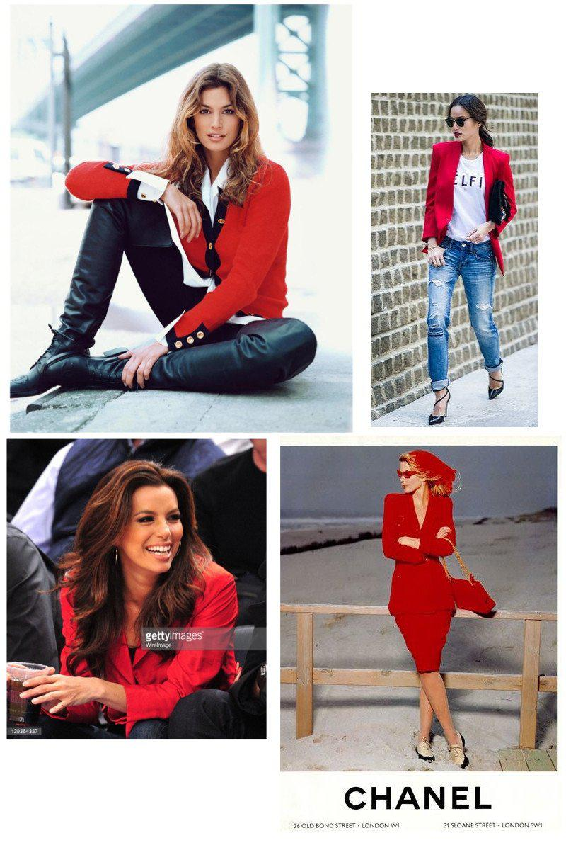 CHANEL 96A Red Cashmere 100% Gold Button Jacket 38 シャネル レッド・カシミア・ジャケット 即発 - CHANEL TC JAPAN