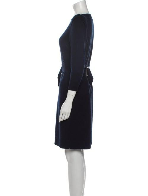 CHANEL 09A Black or Grey Belted Knit Wool Cashmere Dress 36 38 42 シャネル ウール・カシミア・ワンピース 即発 - CHANEL TC JAPAN