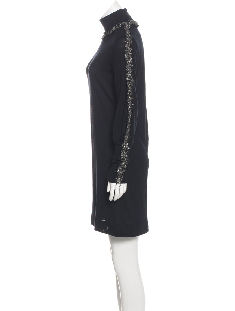 CHANEL 10A Cashmere Knit Sweater Dress 38 シャネル カシミア・ニット・ワンピース