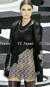 CHANEL 11S Cameron Diaz Black White Lace Cardigan Jacket Dress Tops 34 36 38 シャネル ジャケット ワンピース カーディガン 即発 - CHANEL TC JAPAN