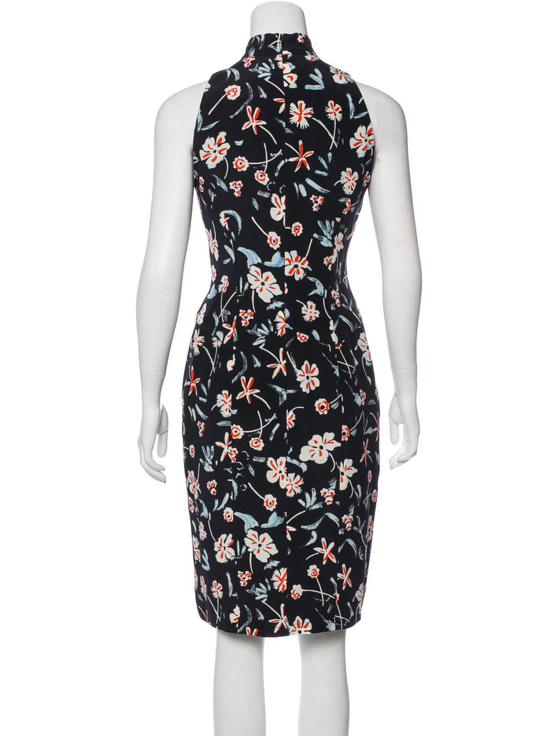 CHANEL 97S Black Sleeveless Flower Dress 38 40 シャネル 花柄ノースリーブ・ワンピース 即発 - CHANEL TC JAPAN