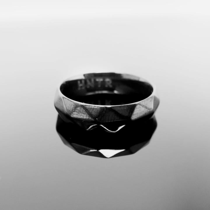HNTR Geometric Totem Ring