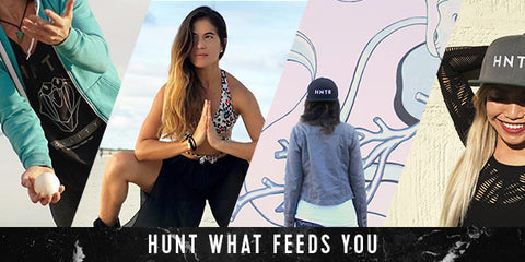 HNTR - Hunt What Feeds You - Clothing, Accessories, and Totem Cords