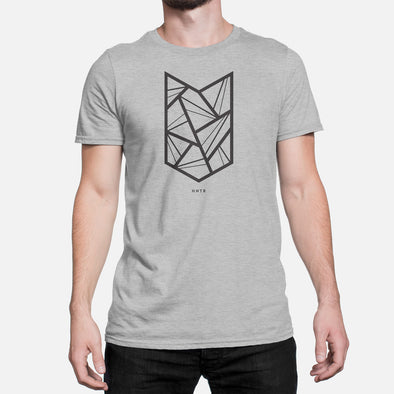 HNTR Geometric Tee - Grey