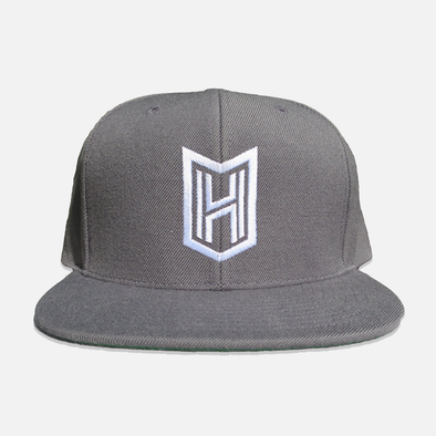 HNTR Signature Snapback - Dark Grey