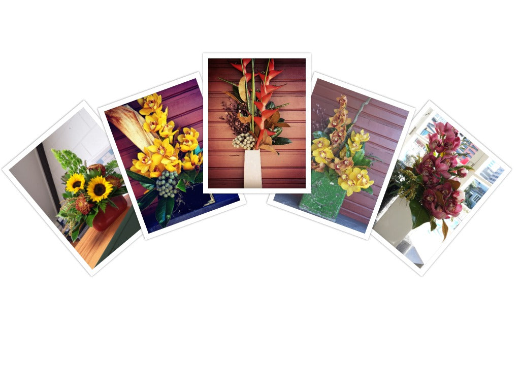 corporate flowers, office flowers, corporate floral arrangements, flowers for events