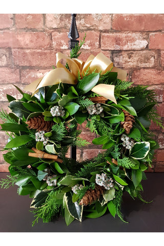 A Foliage Christmas Wreath - Please order before Wednesday 20th December